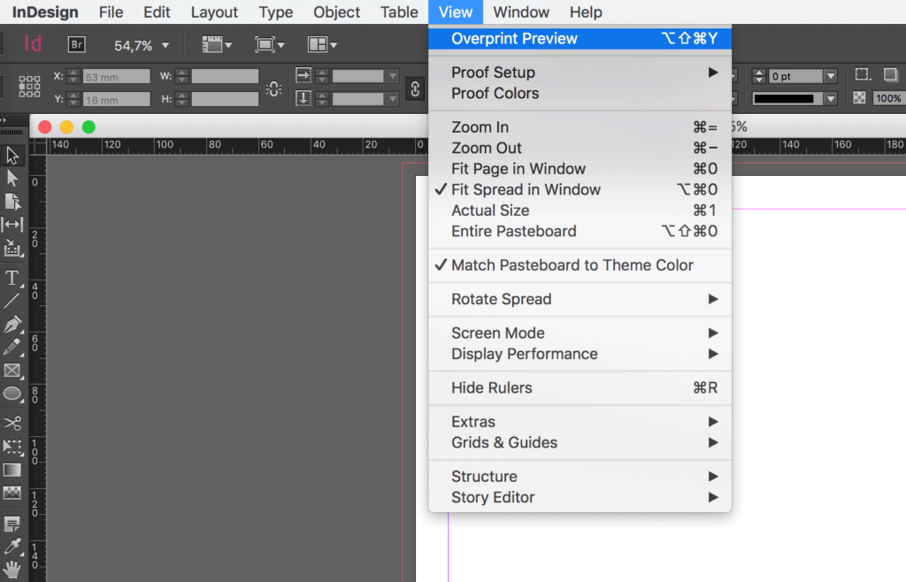 Show hidden characters — InDesign step by step guide