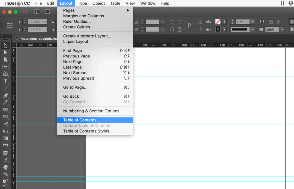InDesign: How to Create a Table of Contents (Updated CC 2018)