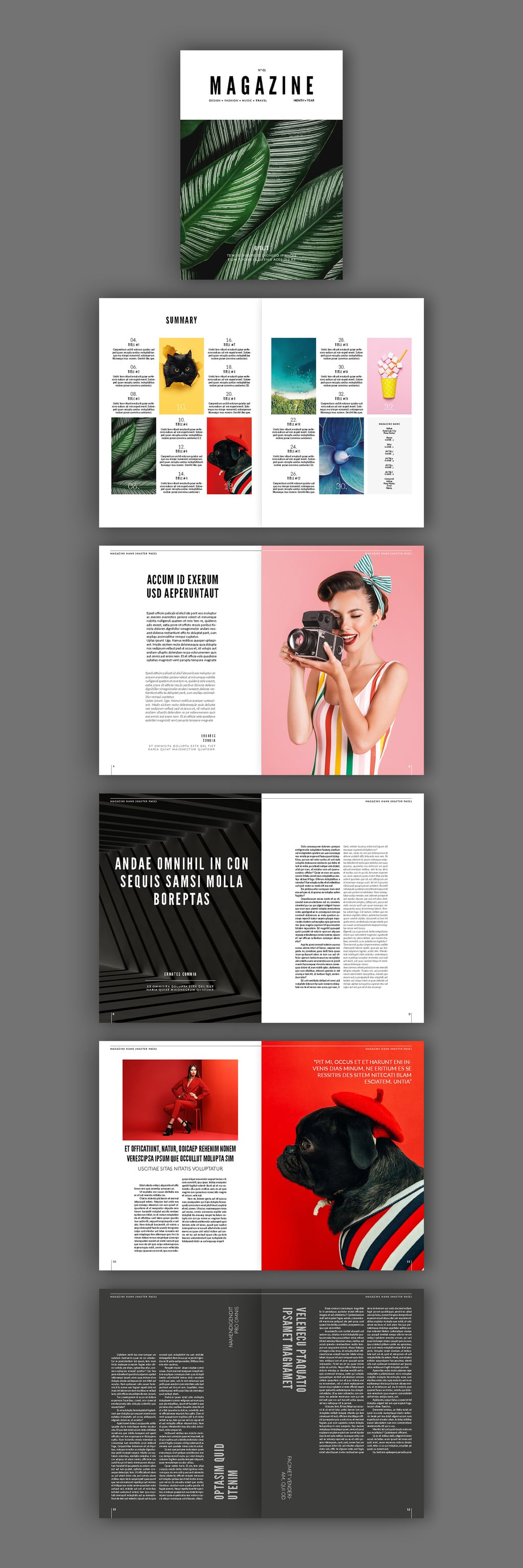 75 Fresh Indesign Templates And Where To Find More