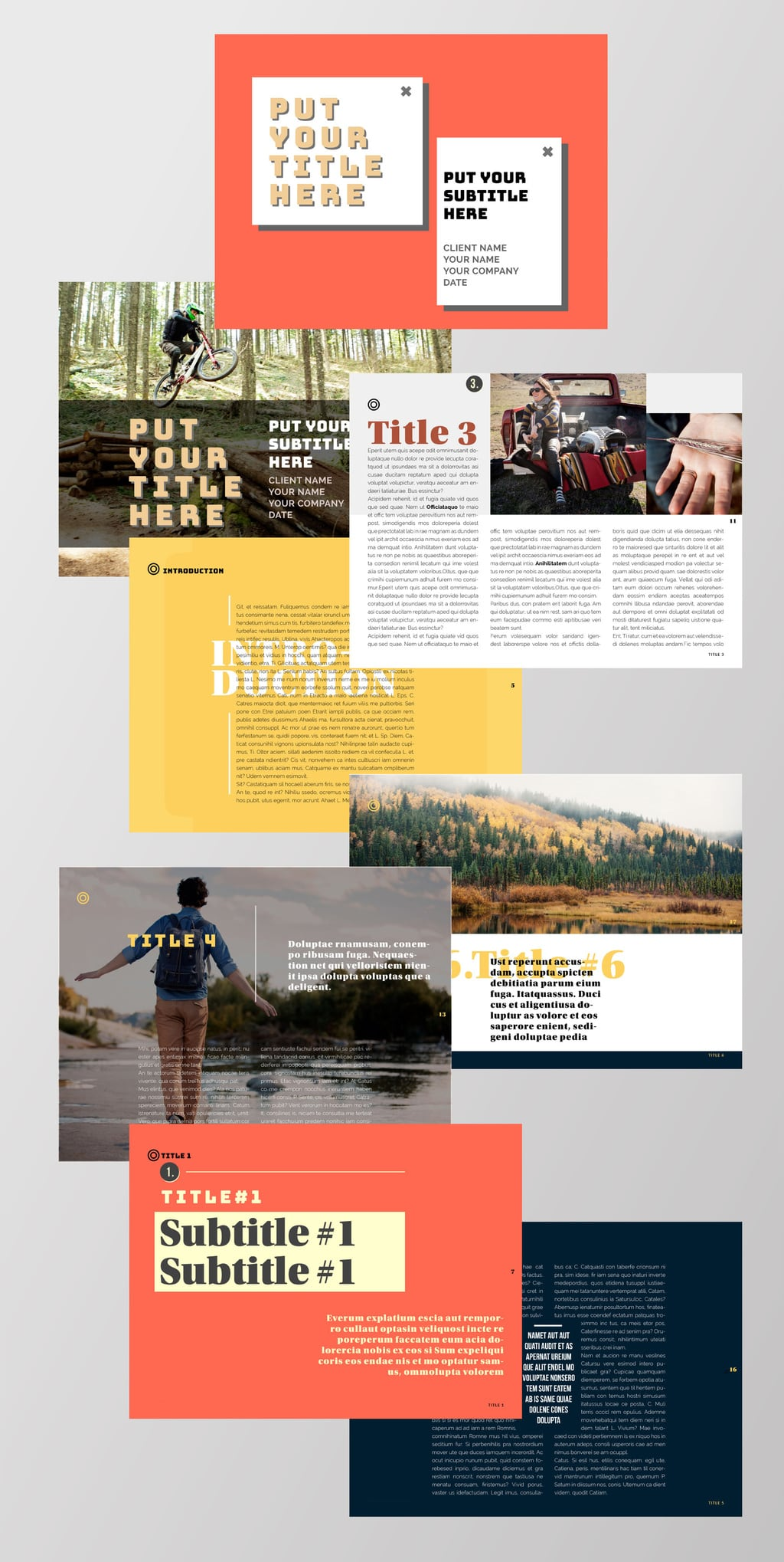 Digital Magazine Template