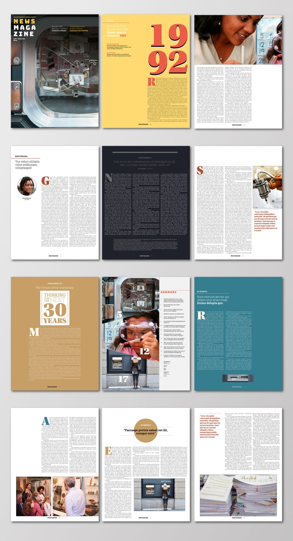 News Magazine Template