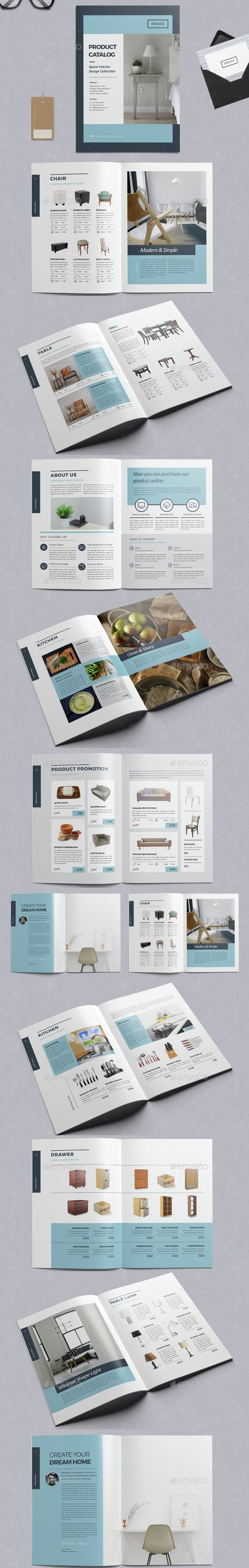 InDesign Product Catalog Templates