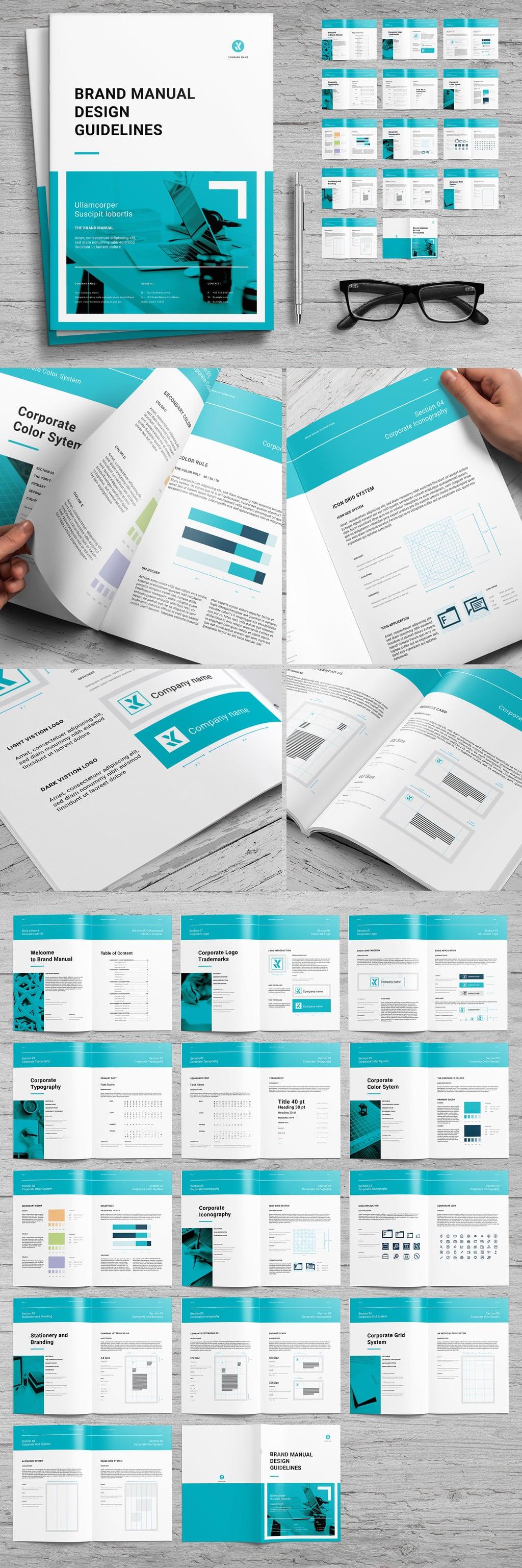 Brand Guideline Landscape Layout