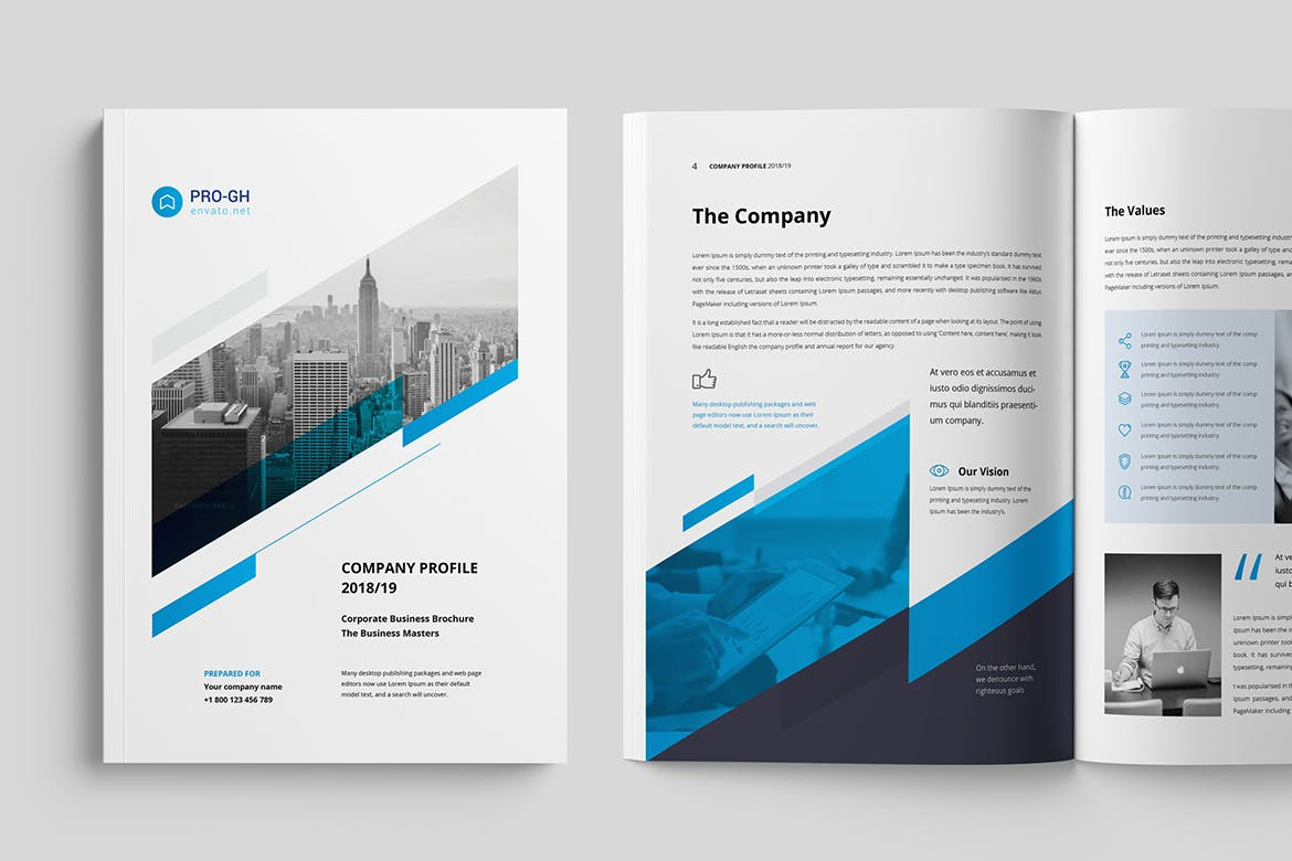 Clean and Professional Brochure template
