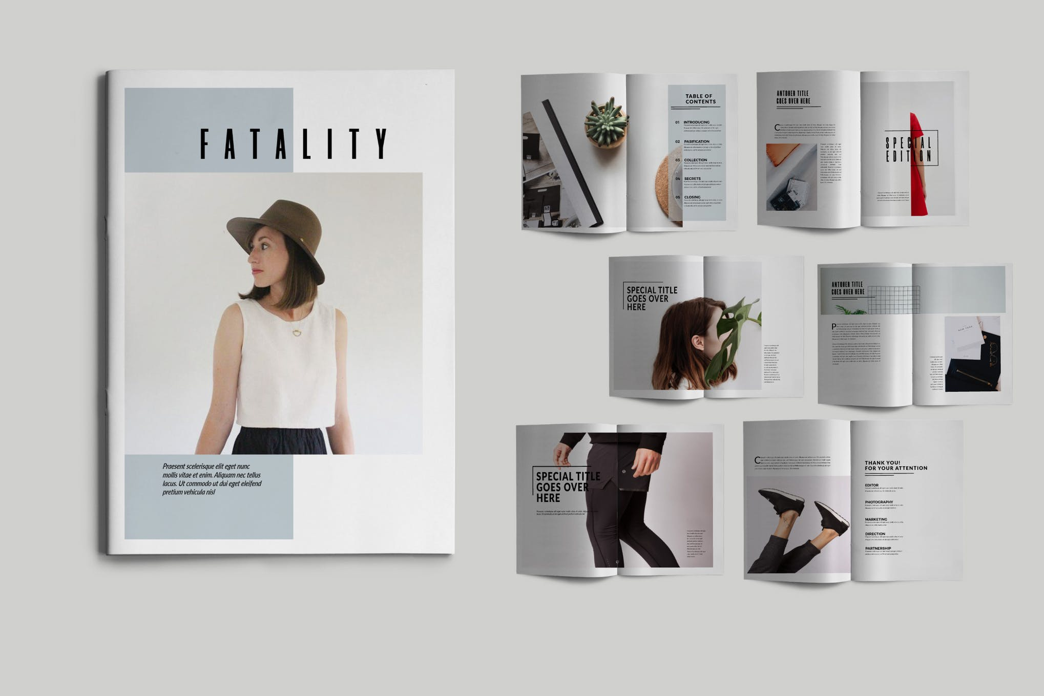 Fashion Related Brochure Template