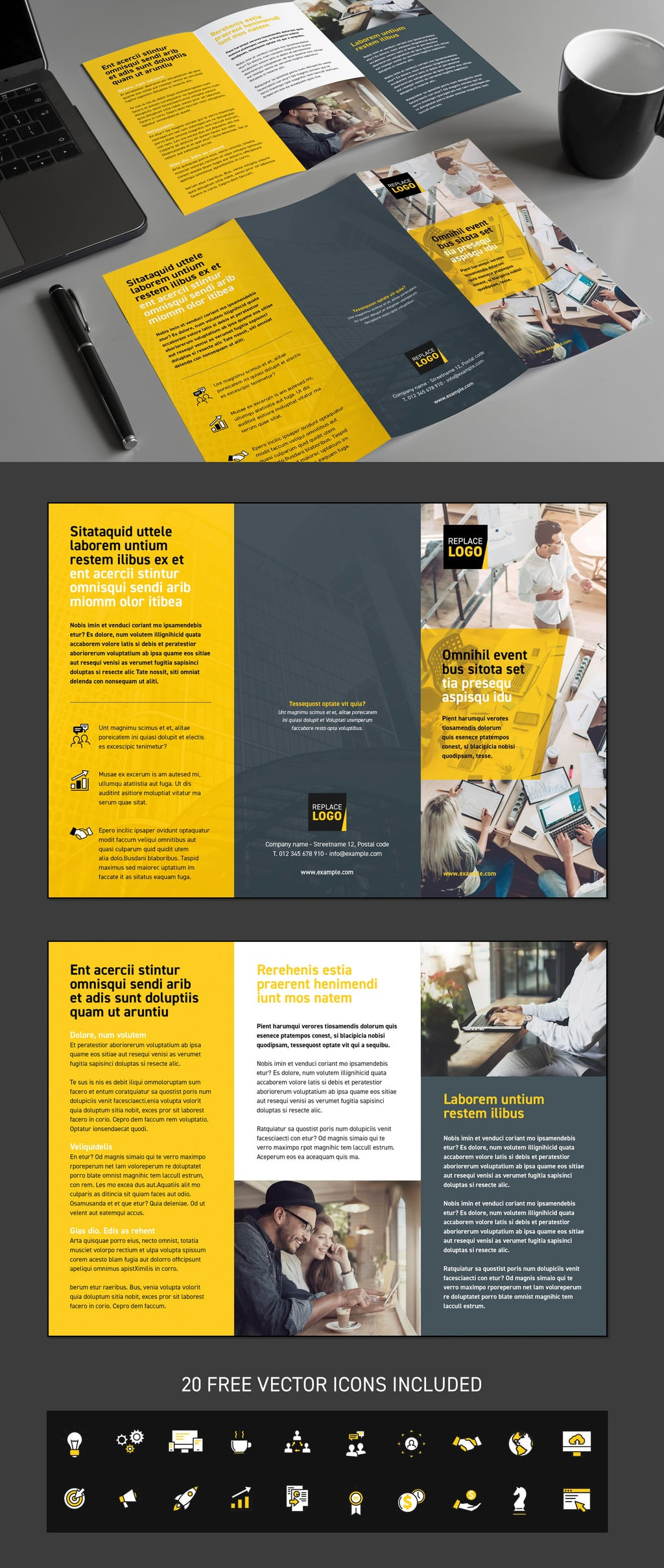 Yellow Business Template
