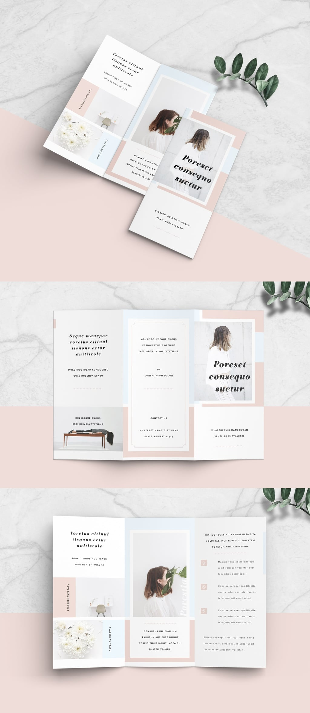 Minimalist Brochure template