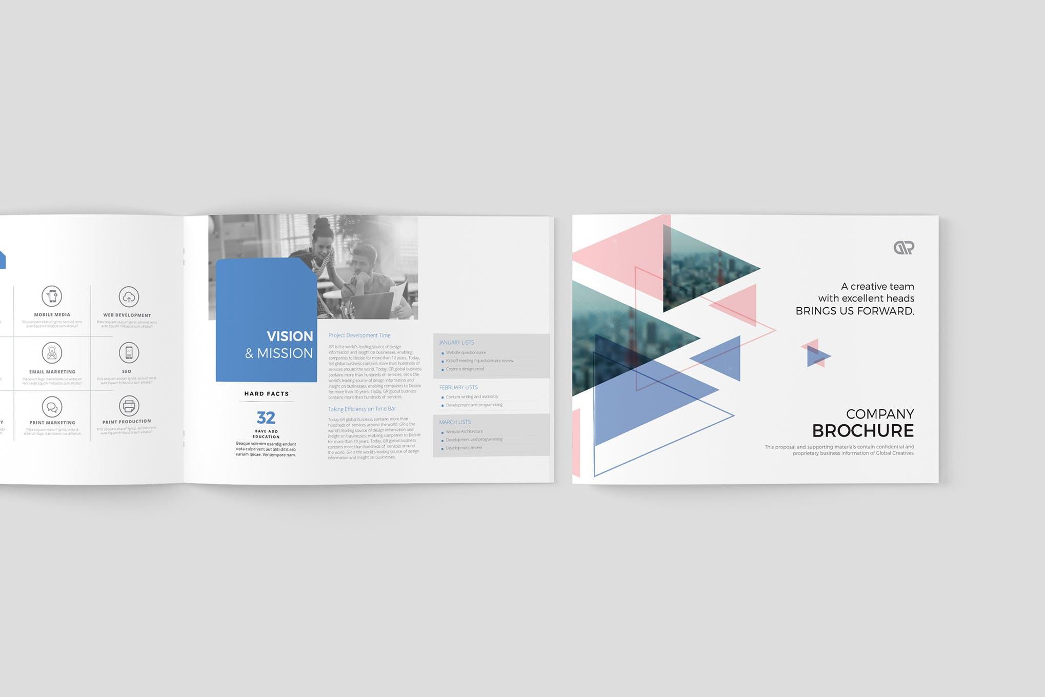 Corporate Creative Brochure template