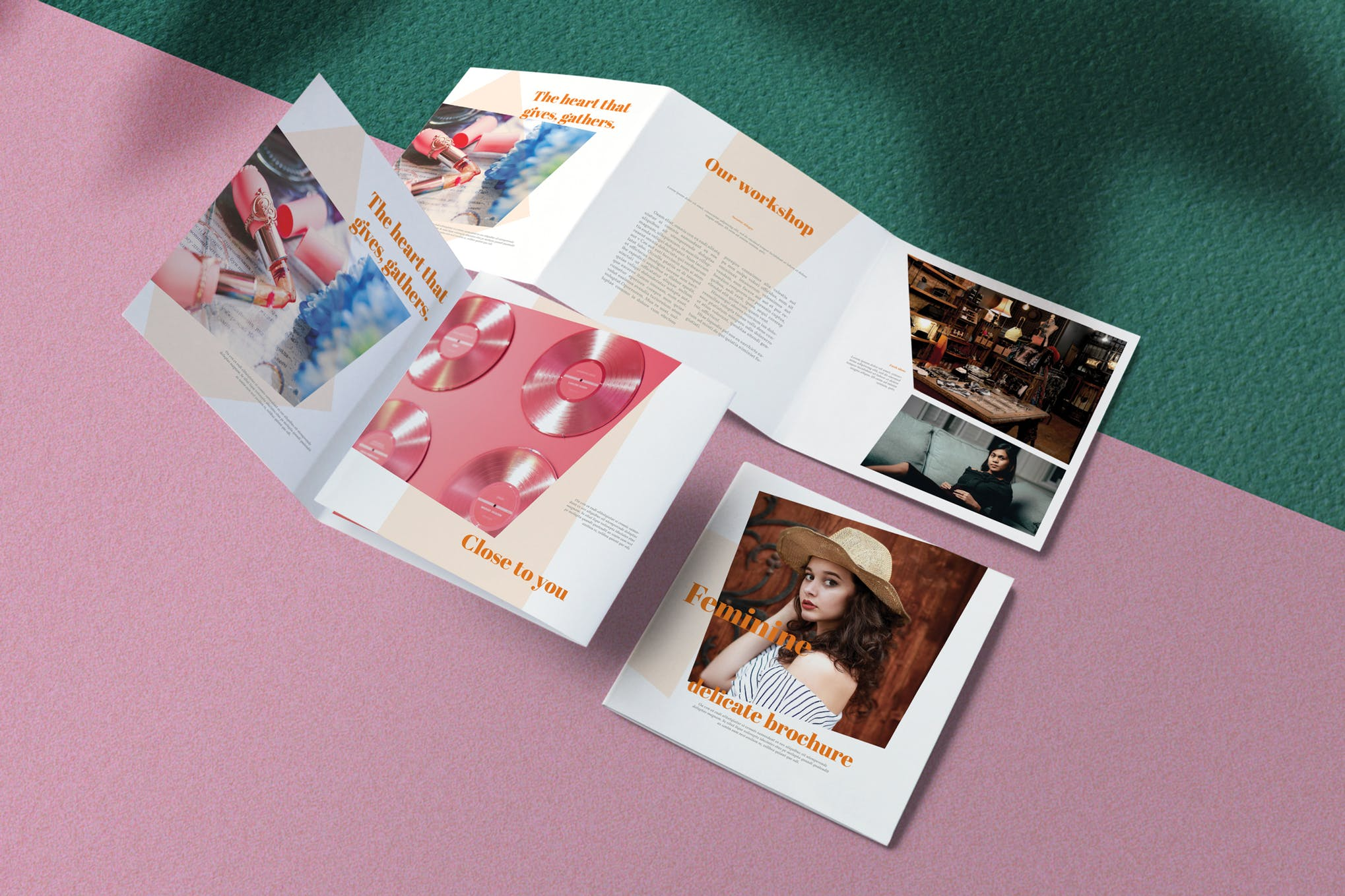 Feminine Product Brochure Template