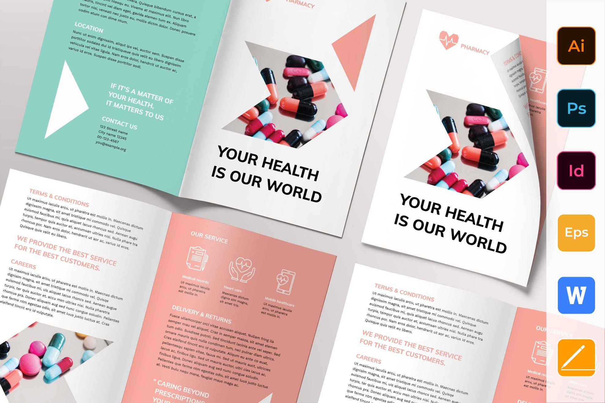 Pharmacy Brochure template