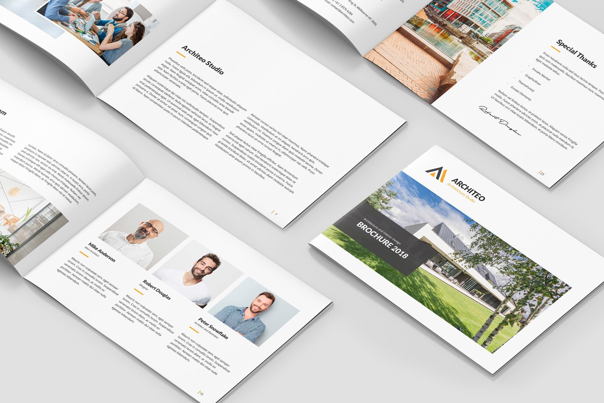Architecture and Interior Brochure template