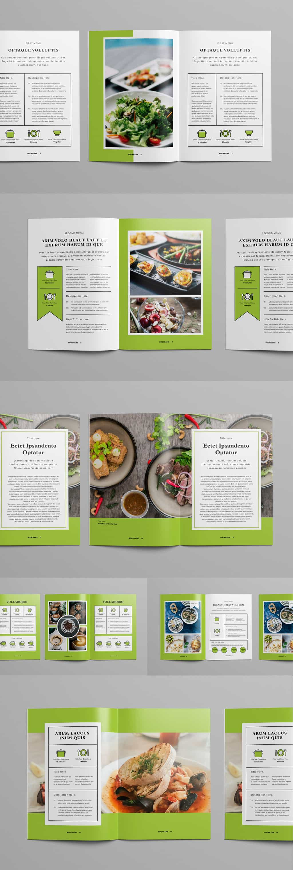 InDesign Magazine Template Preview