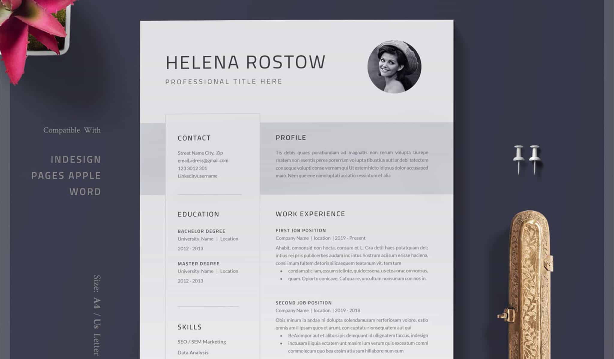 The Artistic Resume