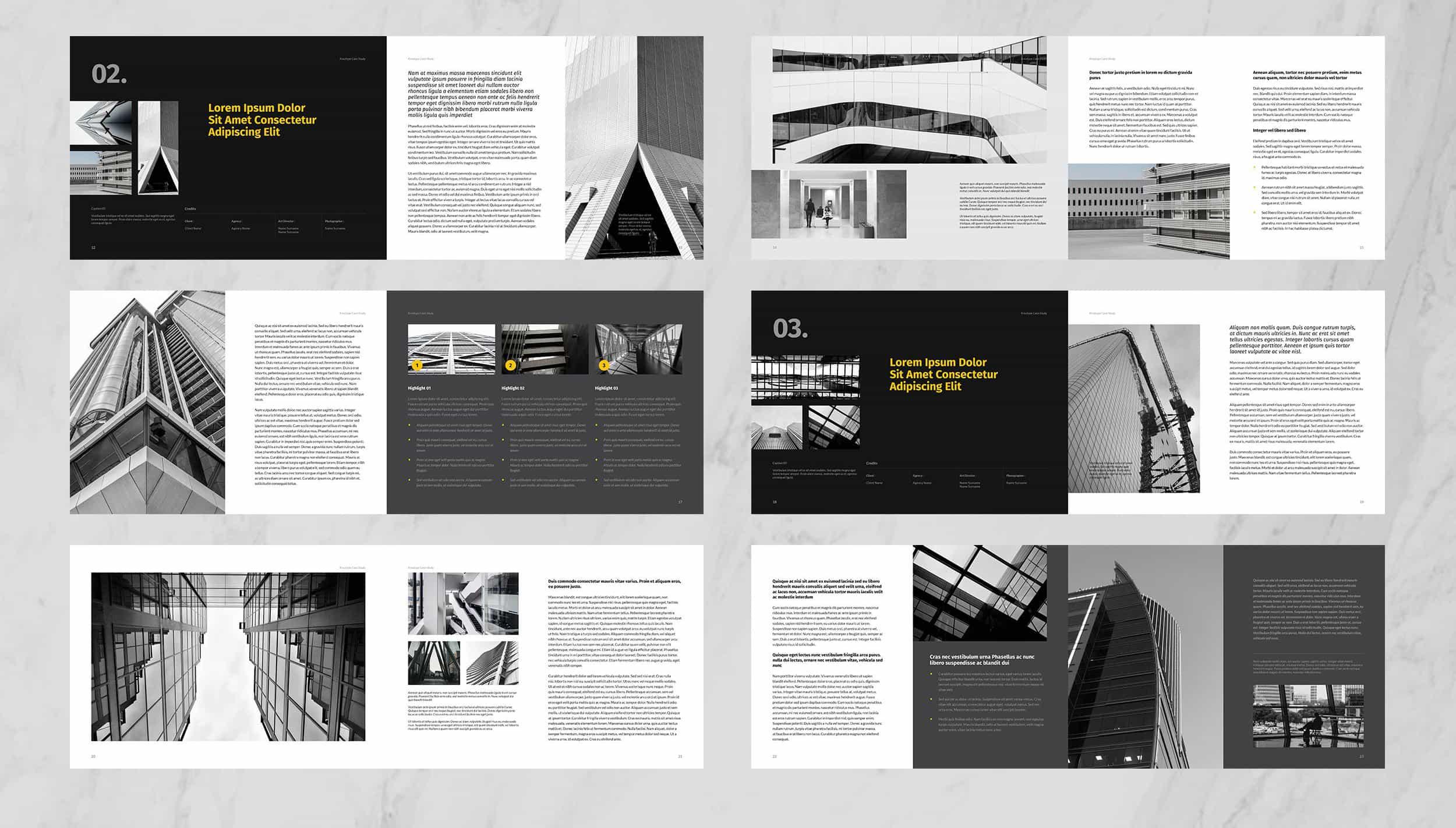 50 Best Architecture Portfolio Templates