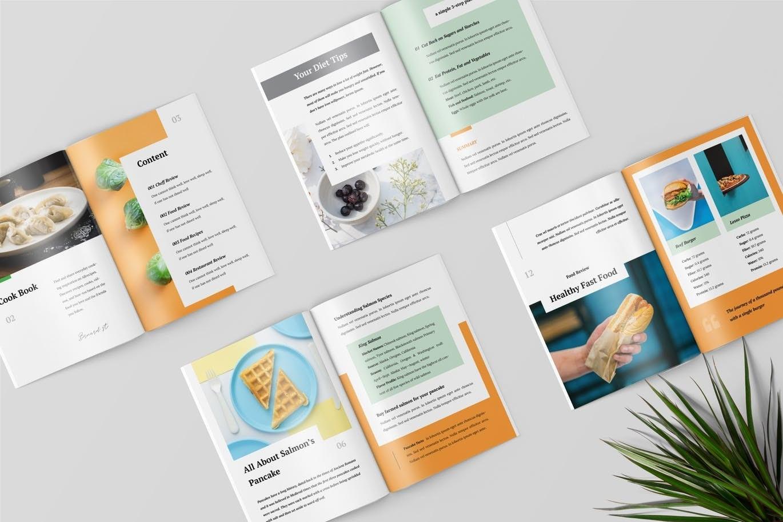 Indesign cookbook templates