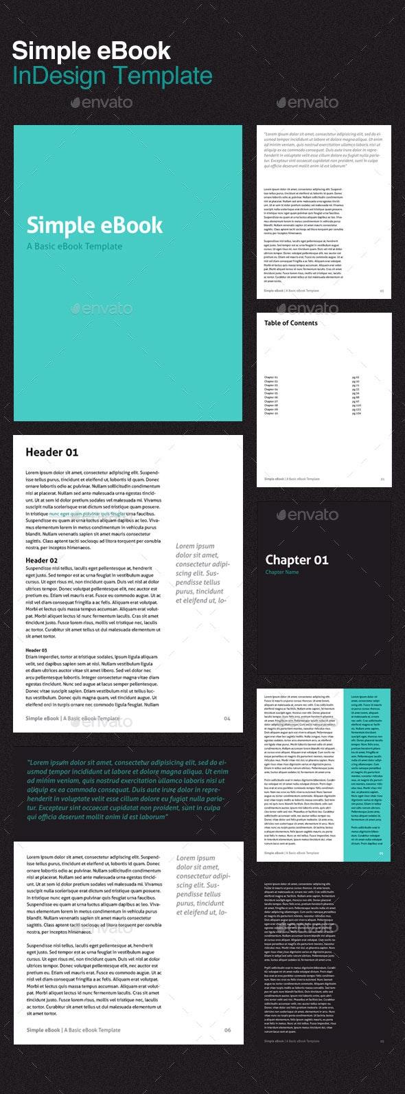 multipurpose indesign ebook templates