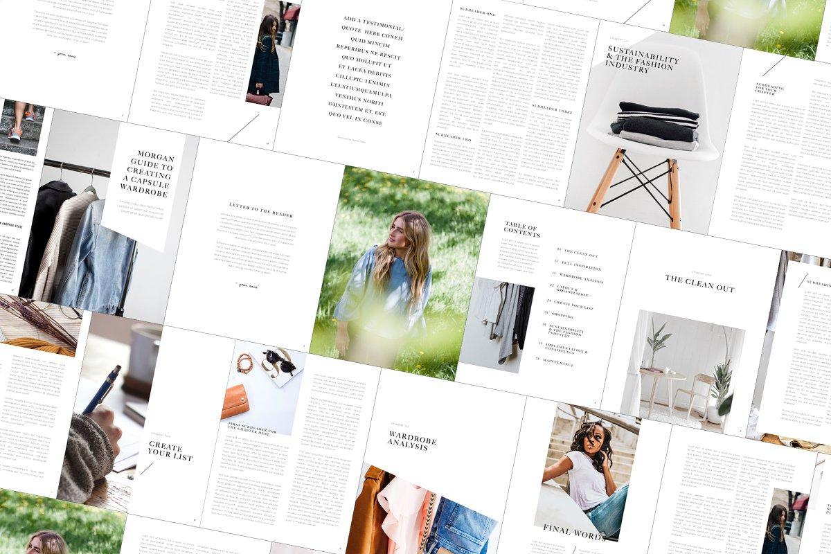 multipurpose indesign ebook template