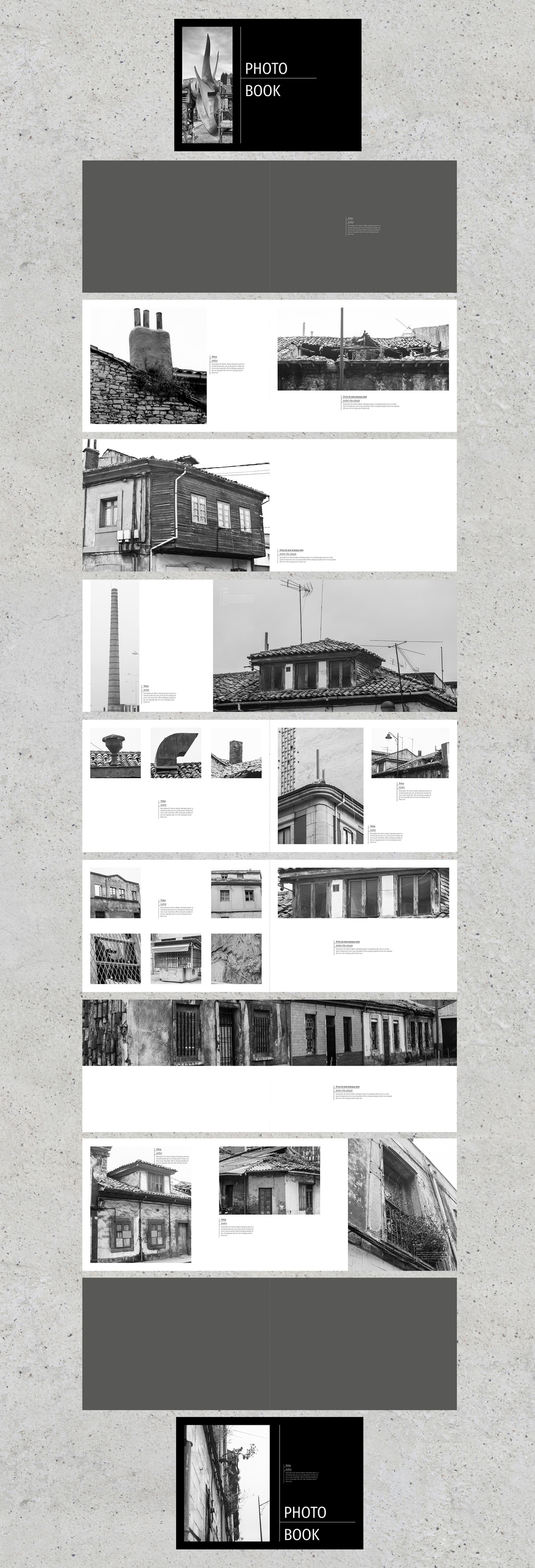 InDesign book template preview