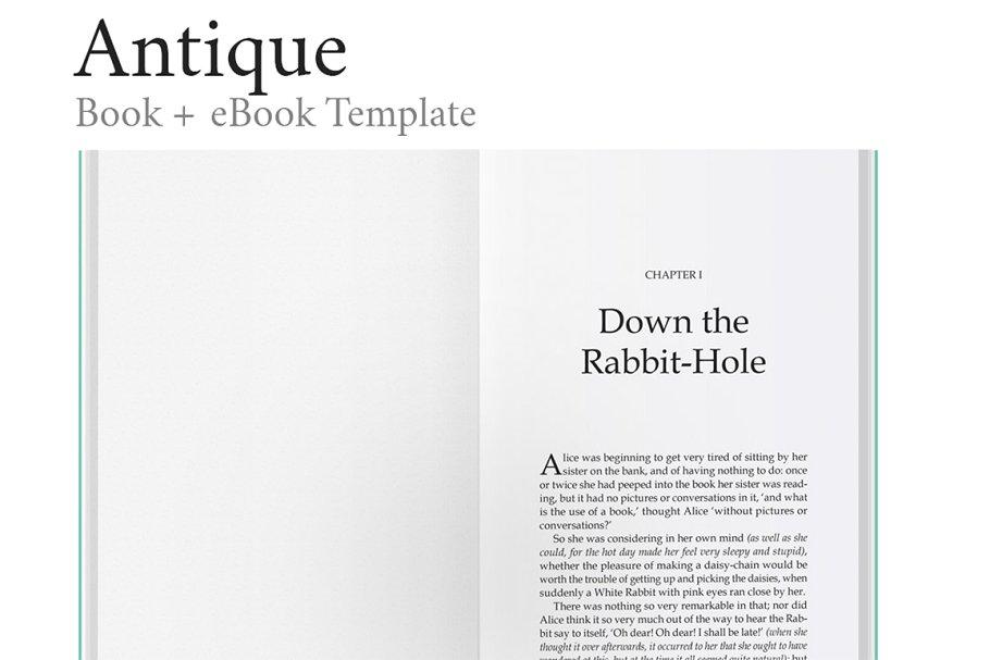 multipurpose indesign book template