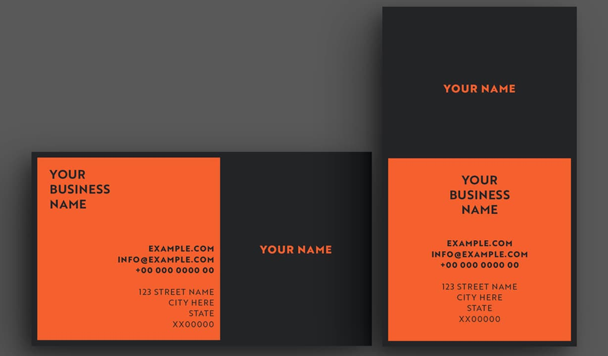 Cool Business Cards Template Preview