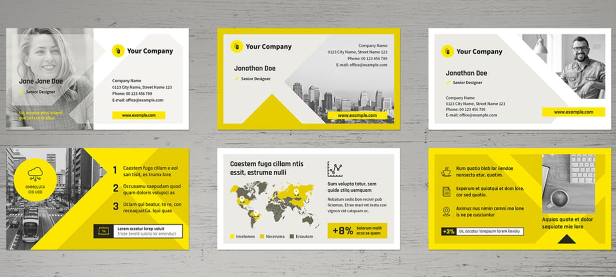 Creative Business Cards Template Preview
