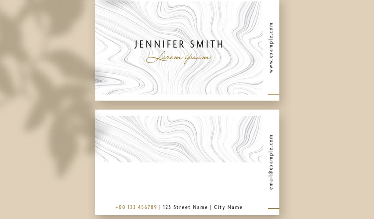 Rustic Business Cards Template Preview