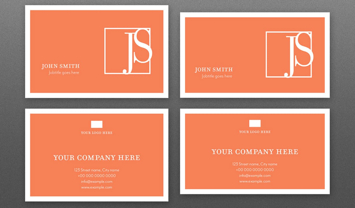 Simple Business Cards Template Preview